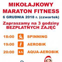 Zapisy na Mikołajkowy Maraton Fitness