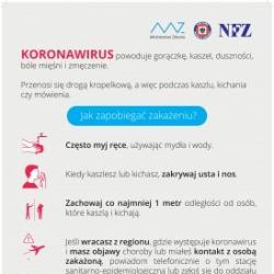 Pływalnia OLIMPIC czynna 6:00 - 22:00 Oświadczenie o higienie ws koronowirusa