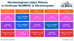 Nowy harmonogram fitness