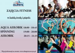 Zajęcia fitness na pływalni Olimpic