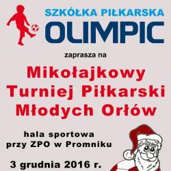 Mikołajkowy Turniej Piłkarski Młodych Orłów